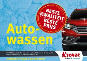 Autowassen in Steenwijk